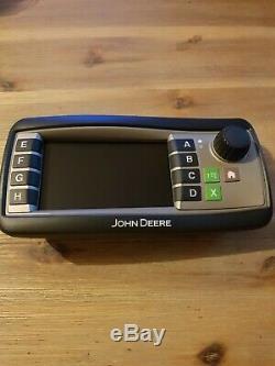 Ecran greenstar 1100 John Deere AFH210446 display mode
