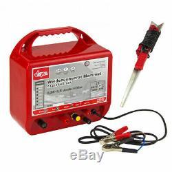Electrificateur de clôture 12 V 0,56-2,5 Joules D31240