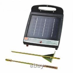 Electrificateur de clôture avec panneau solaire Mammut Solar 1100 6V D31234