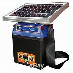 Électrificateur solaire AMA pour clôtures 0,70 J 12 V- maxi 8 km