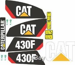 Ensemble complet autocollant, adhésif et autocollant Caterpillar 430F