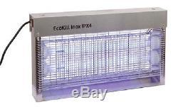 Fliegen Determinateur Ecokill Inox Ipx4 Électrique Lutte contre Insectes Mouche