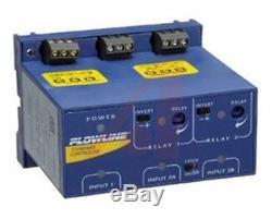 Flowline Switch-Pro Série Rail Din Montage Ultrasons Capteur Niveau No / Nc, Spdt