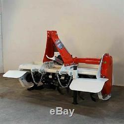 Fraise rotative, rotovateur à déport manuel GIEMME HTM 105 tracteur 12/20 cv