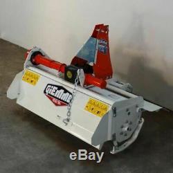 Fraise rotative, rotovateur à déport manuel GIEMME HTM 95 tracteur 12/20 cv
