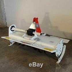 Fraise rotative, rotovateur fixe GIEMME HTF 135 pour tracteurs 30 à 40 cv