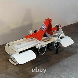 Fraise rotative, rotovator à déport manuel GIEMME HTM 115 tracteur 18/25 cv