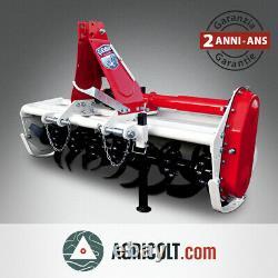 Fraise rotative, rotovator à déport manuel GIEMME HTM 135 tracteur 20/30 cv