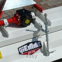 Fraise rotative, rotovator fixe GIEMME HTL 135 pour tracteurs 30 à 60 cv