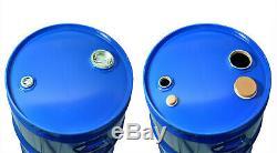 Fût tonneau à bonde métal Bleu 60 L fabriqué en Allemagne approbation UN (23034)