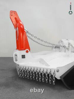 Gyrobroyeur à chaînes GIEMME MACHINERY série TP 1300 pour tracteur de 30 à 80 ch