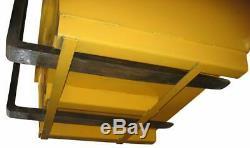 Haemmerlin Bac à béton en acier peint 500 L charge utile 1000 Kg