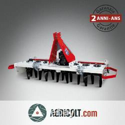 Herse rotative GIEMME ER 170 pour tracteurs de 40 à 70 cv
