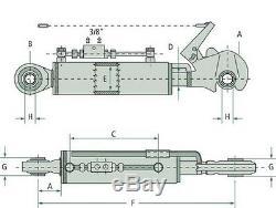 Hydraulique Bras Supérieur Kat. 2 Crochet D'Arrêt, Hub 220 mm, Verrouillage Bloc