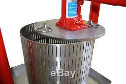 Hydro pressoir 12 litres -pommes, les raisins, les baies, les fruits, vin, cidre