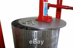 Hydro pressoir 26 litres -pommes, les raisins, les baies, les fruits, vin, cidre
