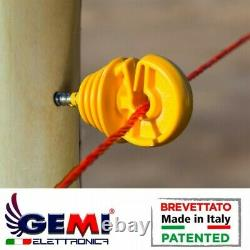 Isolateur Pour Piquets En Bois Clôture Électrique Clôture Électrifiée Gemi