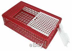 Kerbl Volaille Boîte de Transport Rouge PLASTIQUE 73100 Exposition 57 X 95 X 24
