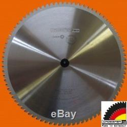 LAME DE SCIE INOX 355 mm PROFESSIONNELLE HM V2A V4A