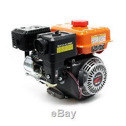 LIFAN 168F-C 20mm Moteur essence 5,4 CV Démarreur à câble Plaque vibrante