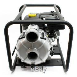 LIFAN motopompe à essence pour eaux sales 66m³/h 30m 4.8kW 6.5CV 89mm 3.5