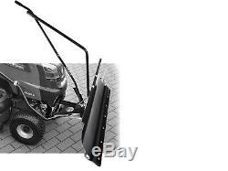 Lame à Neige Tracteur-Tondeuse 118cm Kubato / Iseki avec Latérale + Réglage
