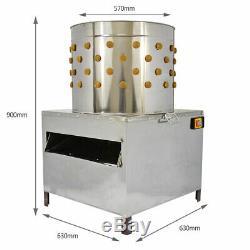 Machine Plumeuse Oiseaux Volaille KuKoo Elevage Electrique Poulet Plumage 60cm