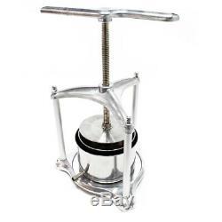 Mini Pressoir à fruits Pressoir- Baies Alu 3l Cuve Acier inoxydable Pressoir Vin