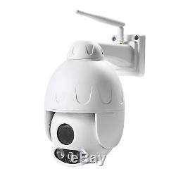 Mini-caméra Wifi + RJ45 PRO. Rotative Etanche IP66 Zoom 5x Chassis alu