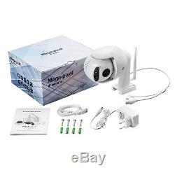 Mini-caméra Wifi + RJ45 Rotative Zoom 5x Etanche IP66 HP et Micro
