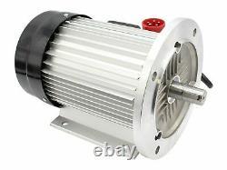 Moteur électrique 400V 5,5 KW adapté pour Zipper ZI-HS20EZ Fendeuse à bois