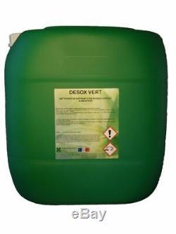 Nettoyant détartrant acide écologique et alimentaire Desox vert bidon de 30