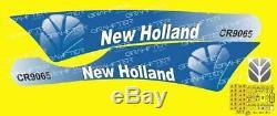New Holland CR9065 Set complet pour autocollant, adhésif et autocollant