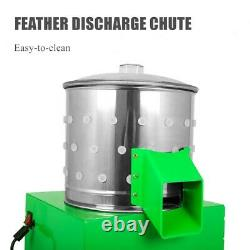 Plumeuse De Volaille Machine À Plumer Oiseaux D'Élevage Poulet 80w 23cm/9
