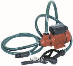 Pompe A Gasoil 40l/min 220 V + Pistolet