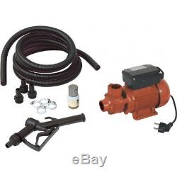 Pompe à gasoil électrique eau Fioul 370 watts