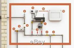Pompe de Circulation Aqualine avec Chauffage à Chaleur Protection Gel 22331