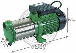 Pompe de surface Ribiland multicellulaire auto-amorçante à 5 turbines en inox
