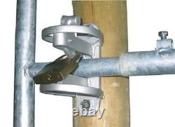 Portail de Pré Barrière pour Bétail Porte Torsystem + Visserie Complète 1- 1,7 M