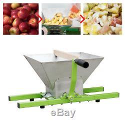 Presse-Fruits Presse-Agrumes Maischepresse Pressoir à Vin + 7L Obsthäcksler