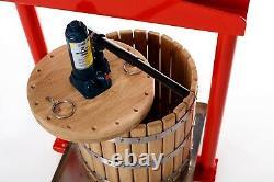 Pressoir à fruits et raisins hydraulique GP-26 pommes, baies, jus, vin, cidre