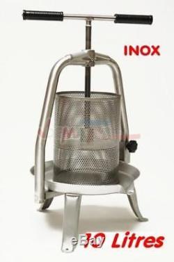Pressoir à fruits presse à fruits V20 entièrement en inox 10 l D40792