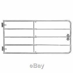 Pro. Tec Portail de Pré Porte Clôture Pâturage Réglable Stahltor Zingué 170x90cm