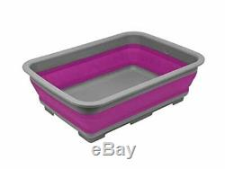 Ram Bassine à vaisselle pliable Bac de stockage d'eau portable de 10 litr