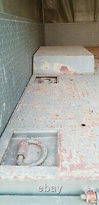 Remorque SCORT 3 tonnes plateau baché Jeep Peugeot P4 ACMAT Unimog Réo Marmon