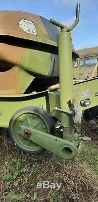Remorque citerne 1500L Lohr Tracteur Jeep Chevaux Scout Pompe eau Cuve