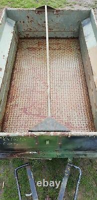 Remorque pour JEEP VTTL PEUGEOT P4 4X4 Armée Française