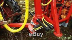Rückewagen-rückanhänger Chargeur Remorque T4500