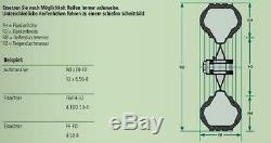 Schneeketten-Satz 23x10.50-12 Pneu Tracteurs Balayeuses Spurkreuzkette
