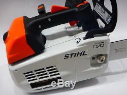 Stihl MS 201 TC-M Scie à une main tophandel baupflegesäge tronçonneuse